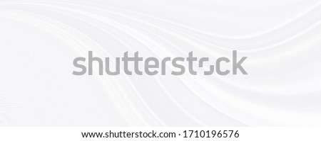 White gray satin texture that is white silver fabric silk panorama background with beautiful soft blur pattern natural. #1710196576
