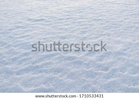 Image of snow in winter
