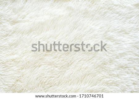 Texture faux fur fiber blanket rug Royalty-Free Stock Photo #1710746701