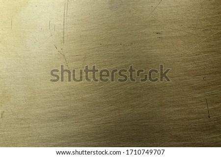 Scratched texture surface of old bronze, background #1710749707