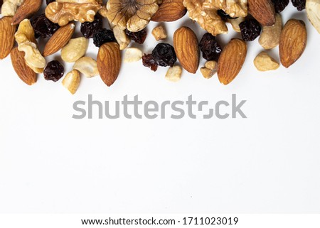 proteins with a mix of nuts #1711023019