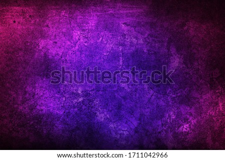 Purple texture for designer background. Grunge violet and pink texture. Colorful old dirty wall. Royalty-Free Stock Photo #1711042966
