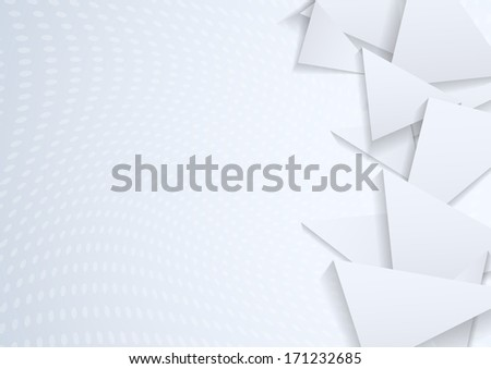 Triangles - geometrical background. Vector illustration #171232685