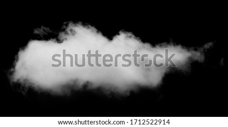 "Cloud on black background for use in editing software. ""screen"" blend mode is recommended."