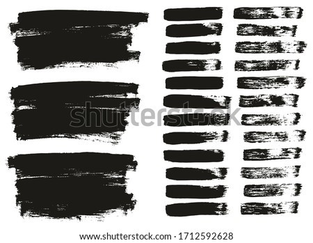 Flat Paint Brush Thin Lines & Background Mix High Detail Abstract Vector Lines Background Mix Set  #1712592628