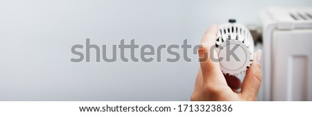 Heater And Radiator Warm And Temperature Control  Royalty-Free Stock Photo #1713323836