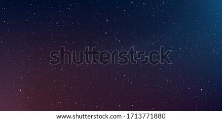 Astrology horizontal background, Star universe background, Milky way galaxy, Vector Illustration. Royalty-Free Stock Photo #1713771880