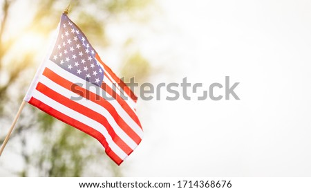 American flag for Memorial Day, 4th of July, Labour Day. Independence Day. #1714368676