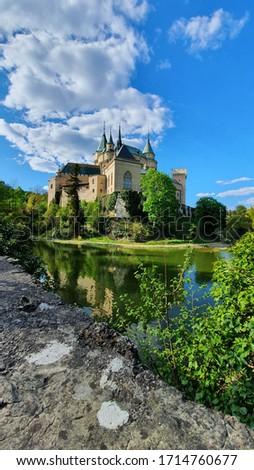 beautiful view on bojnice castle, bojnice, slovakia #1714760677