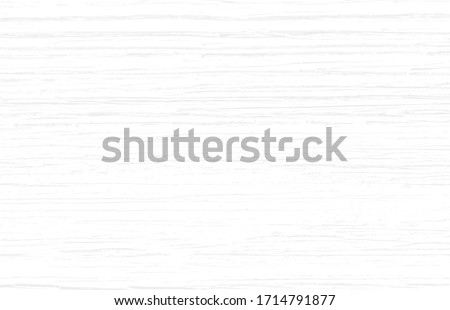 Subtle white wood texture background of distressed oak grain. Cool light grey natural wooden texture wallpaper.  White wooden table top view. Vector EPS10. Royalty-Free Stock Photo #1714791877