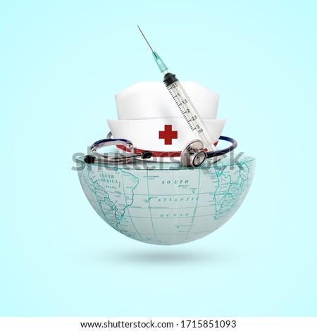 world midwife day, world nurse day, 12 May, International Nurse Day background, Royalty-Free Stock Photo #1715851093
