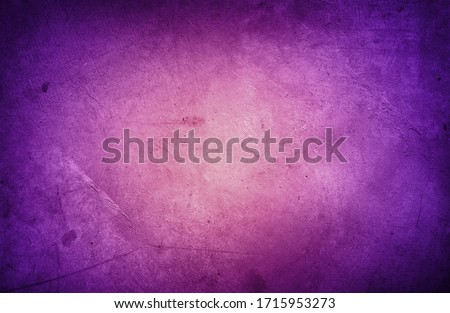 Closeup of purple textured concrete background. Dark edges   Royalty-Free Stock Photo #1715953273