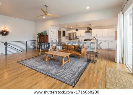 Modern Farm House Open Concept Living Space  #1716068200
