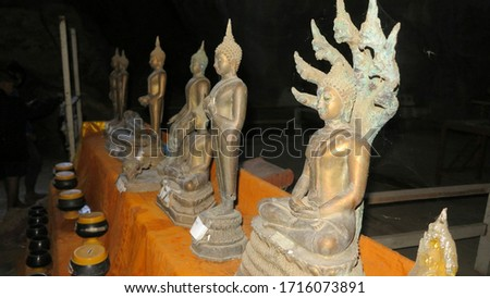 Birthday Buddha statues, various forms of Buddha images
