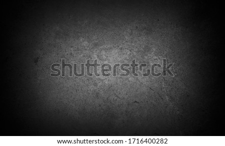 Old wall texture cement dark black gray  background abstract grey color design are light with white gradient background. #1716400282