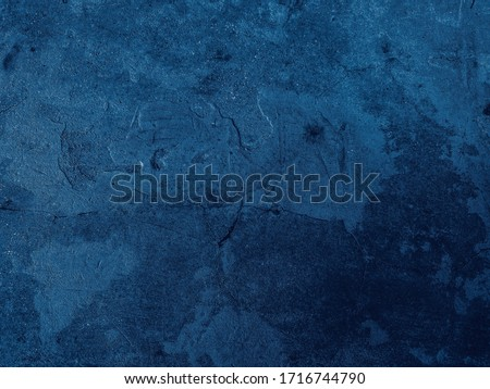 Beautiful Abstract Grunge Decorative Navy Blue Dark Stucco Wall Background. Art Rough Stylized Texture Banner With Space For Text,dark blue background colour concept 2020. Color of the year 2020 #1716744790