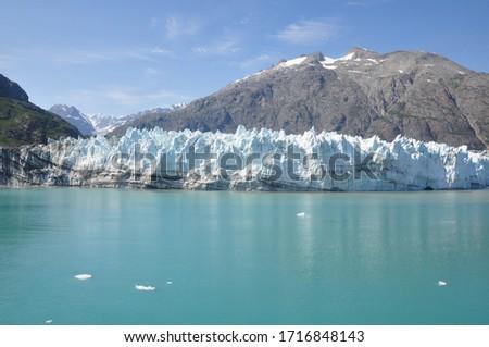 Alaska Glacier during the summer months #1716848143