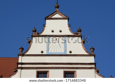 Stepped gable from the Renaissance #1716883348