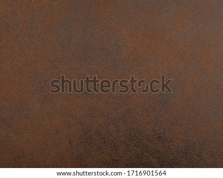 brown faux leather material texture Royalty-Free Stock Photo #1716901564