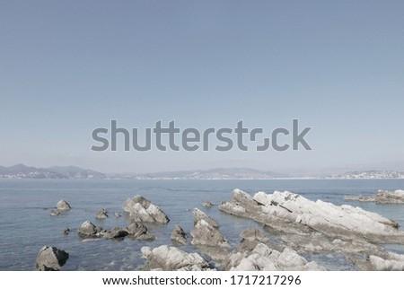 View of french riviera coastline #1717217296