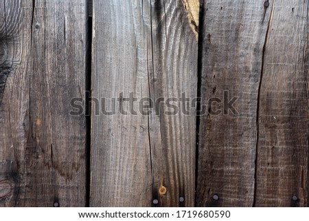 Old wood fence, wood texture background. Structure of a tree. #1719680590