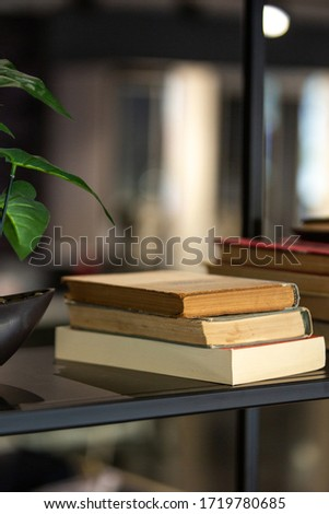 old books on the table #1719780685