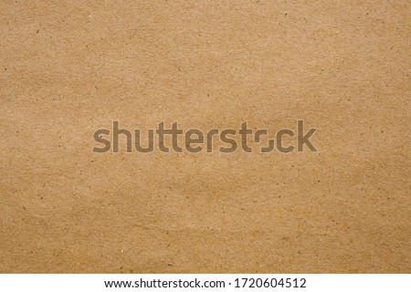 Brown eco recycled kraft paper sheet texture cardboard background Royalty-Free Stock Photo #1720604512