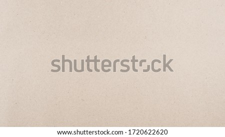 Abstract recycled paper brown texture background. Old Kraft paper box craft pattern. top view. Royalty-Free Stock Photo #1720622620