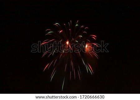 Picture of 4th of July fireworks