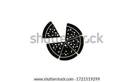 pizza margherita with mozzarella cheese, tomato