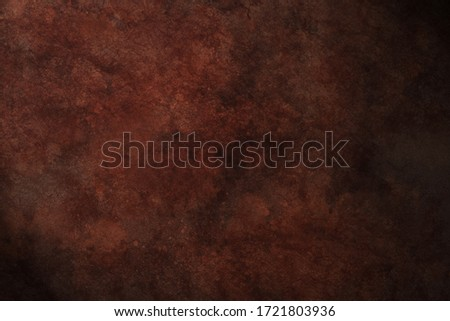 old rusty metal texture with detailed traces of corrosion  #1721803936