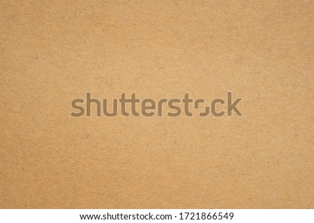 Texture of brown craft or kraft paper background, cardboard sheet, recycle paper, copy space for text. #1721866549