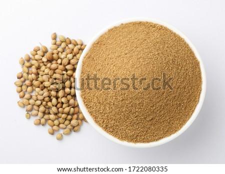 coriander powder with coriander seeds #1722080335