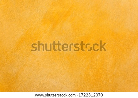 Abstract gold stucco wall texture, plaster yellow pattern background #1722312070