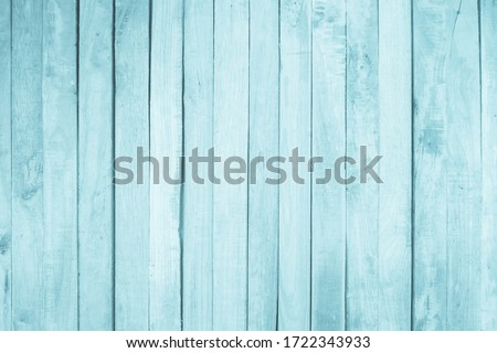 Old grunge wood plank texture background. Vintage blue wooden board wall have antique cracking style background objects for furniture design. Painted weathered peeling table woodworking hardwoods. Royalty-Free Stock Photo #1722343933