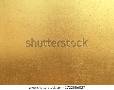 Gold or foil cement wall texture background  #1722586027
