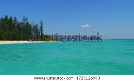 lonely beach of koh poda #1723126990