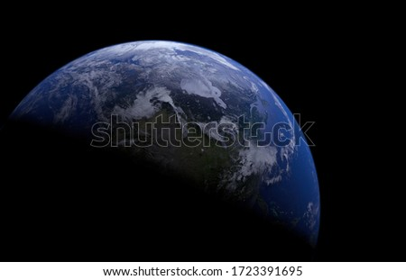 The Picture Of Earth Planet