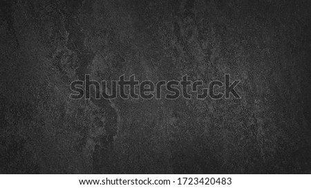 black anthracite stone tile floor texture. abstract natural background. Royalty-Free Stock Photo #1723420483