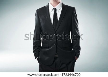 Photo of man in business suit Royalty-Free Stock Photo #1723446700