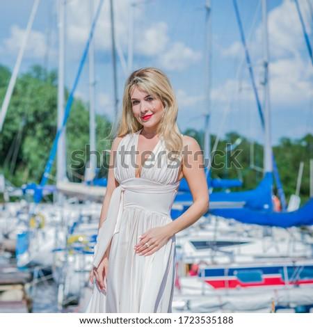Summer vibes and joyful moments. Girl enjoying a life, modern world and lifestyle #1723535188