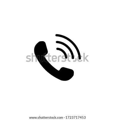 Phone icon vector. Telephone icon symbol isolated. Call icon #1723717453