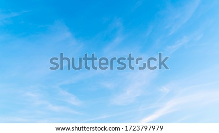 Background sky gradient , Bright and enjoy your eye with the sky refreshing in Phuket Thailand. Royalty-Free Stock Photo #1723797979