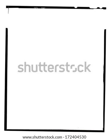 real large format frame