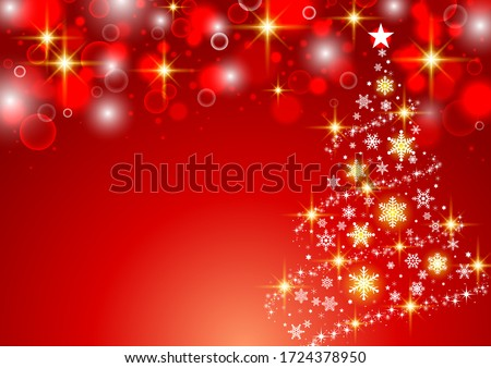 Fashionable and simple Christmas tree background Royalty-Free Stock Photo #1724378950