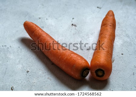 Garden-grown carrots are full of flavor and texture. They are a popular, long-lasting root vegetable that can be grown in many climates. #1724568562