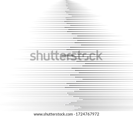 Abstract Pattern background, vector template for your ideas, monochromatic lines texture, waved lines texture #1724767972