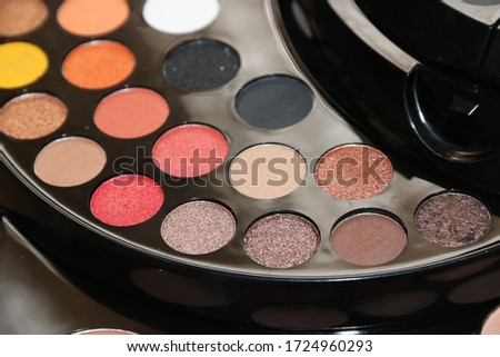 Eye shadow palette cosmetic products #1724960293