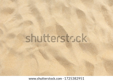 Sand nature texture, Beach sand dune of background. #1725382951