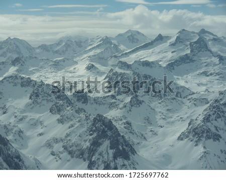 Pic du Midi snow mountains